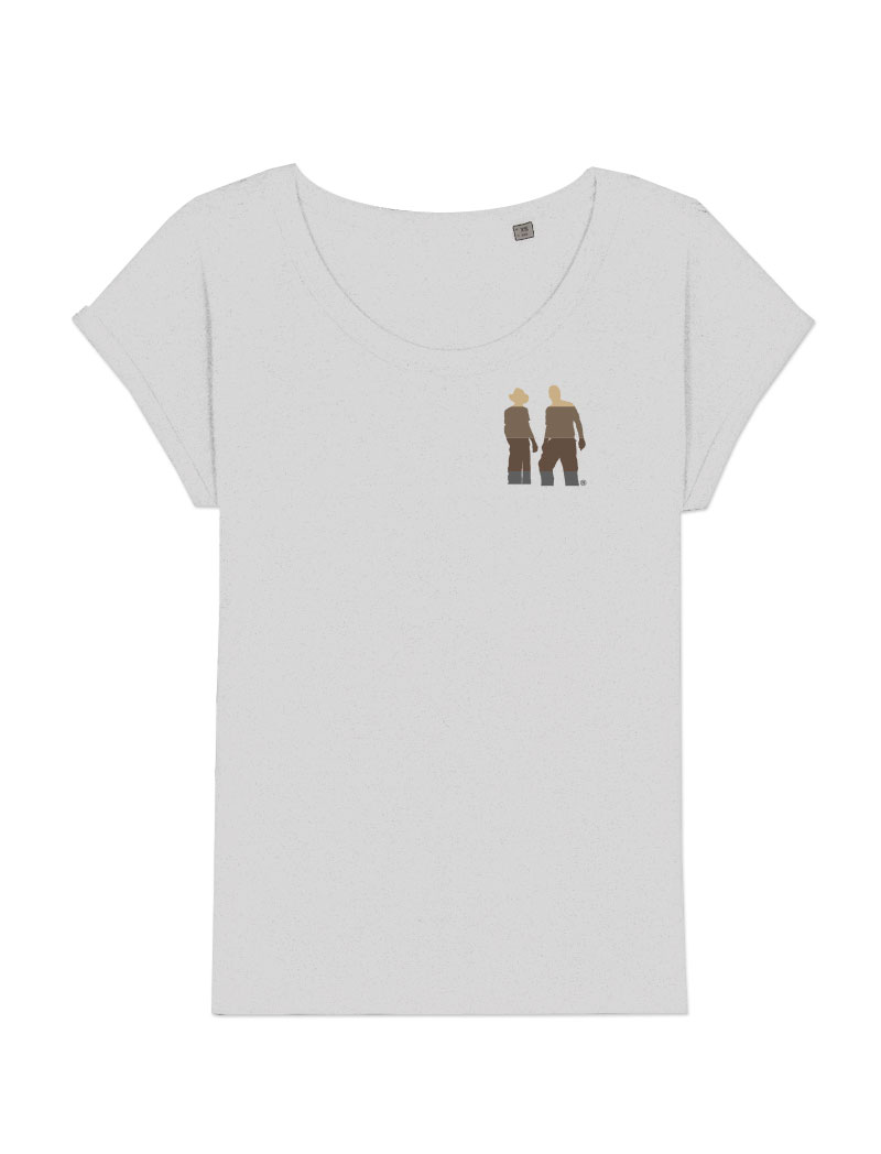 Strainhunters Female T-shirt White.