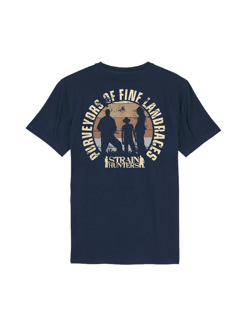 Strainhunters T-shirt Navy
