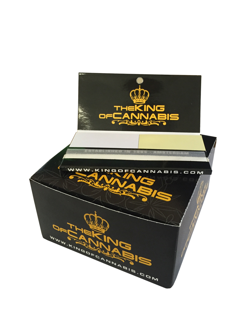 Maxi Pack BOX | The KING of CANNABIS Rolling Papers