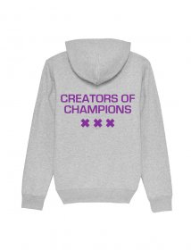 Creators of Champions Grey-Purple back
