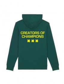 Creators of Champions Green-Yellow back