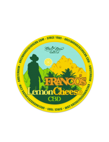 Franco's Lemon Cheese CBD Sticker
