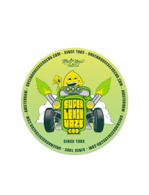 Super Lemon Haze CBD Sticker