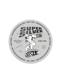 Super Silver Haze CBD Sticker